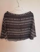 Czarno biała spódnica H&M...