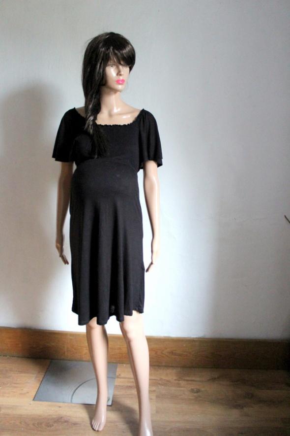323215c749 Ciążowa czarna sukienka HM MAMA r M w Suknie i sukienki - Szafa.pl