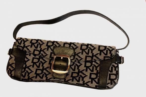 Donna Karan oryginalna torebka DKNY do ręki kopertówka...