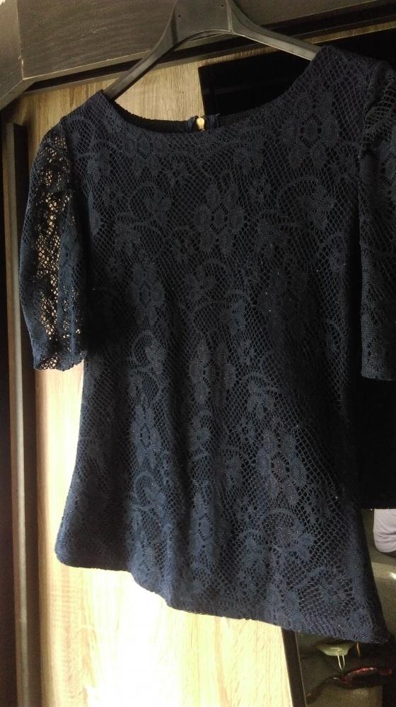 Koronkowa bluzka M