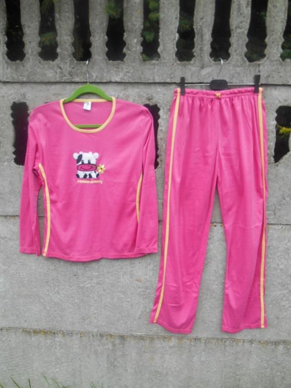 Nowa Piżama S M dwuczęściowa różowa