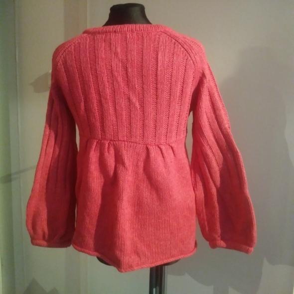sweter bolerko 134 Monsoon różowy rozpinany...