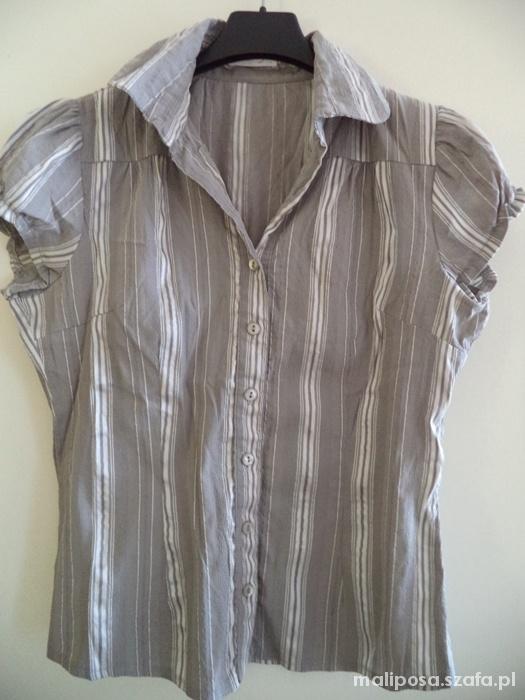 Bluzka koszula szara Orsay 36 S paski