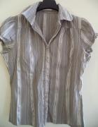Bluzka koszula szara Orsay 36 S paski...