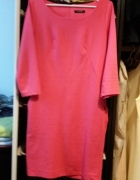 Malinowa sukienka 38 M