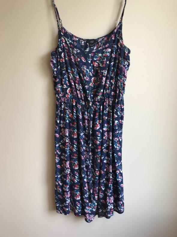 Suknie i sukienki F&F letnia sukienka w kwiaty