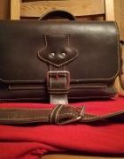 Piękna torebka skórzana retro vintage...