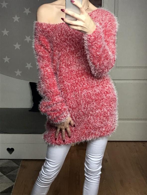 włochaty sweterek oversize xlxxl
