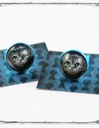 WONDERLAND pierścionek Kot Z Cheshire piękny kotek...