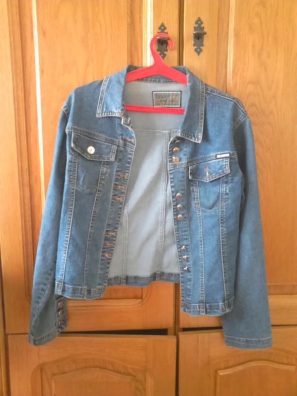 Odzież wierzchnia dżinsowa kurtka