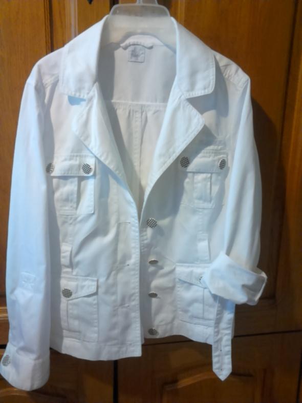 Odzież wierzchnia biała marynarka