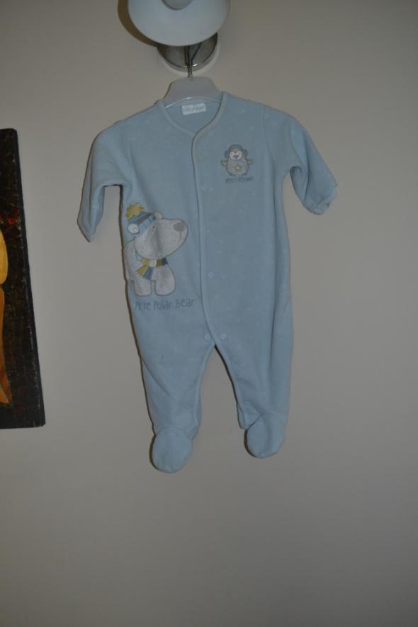 Pajacyk niebieski BabyBlue 3 6 mc 68cm