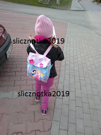 Plecaczek Księżniczki do przedszkola...