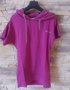 Umbro sportowa bluzka różowa z kapturem r 38...
