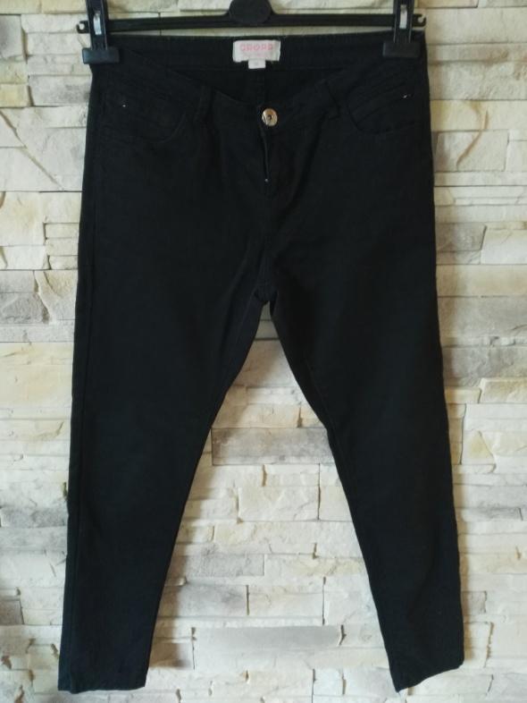 Spodnie CROPP Czarne spodnie r38