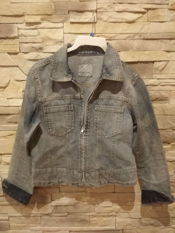 Odzież wierzchnia Katana jeansowa krótka r38 idealna