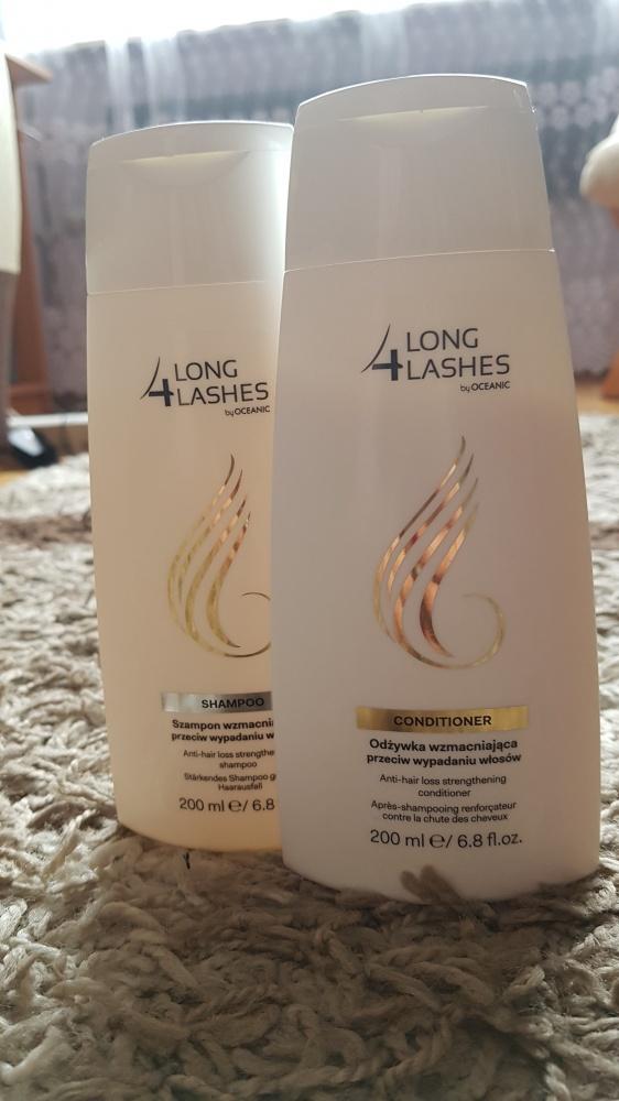 Szampon i odżywka przeciw wypadaniu włosów 4 Long Lashes...