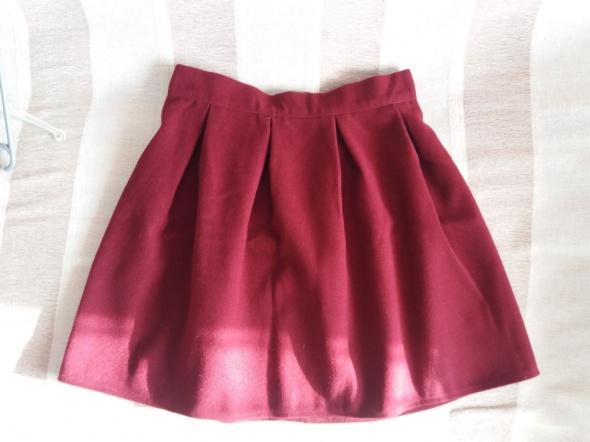 Spódnice Spódnica wełniana Świąteczna złoty ZIP 38