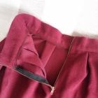 Spódnica wełniana Świąteczna złoty ZIP 38