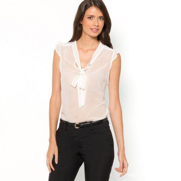 Biała bluzka Camaieu S