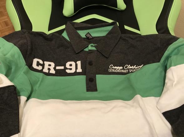 Koszulka Polo z długim rękawem CROPP