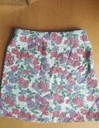 Spodnica new look w kwiaty s...
