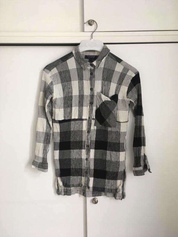 koszula w kratę Topshop XS...