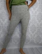Nowe Sportowe dresowe legginsy szare Russell Athletic...