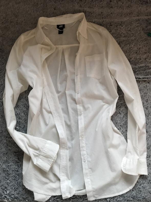 Biała koszula hm