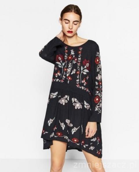 Ubrania Sukienka ZARA Poszukiwana