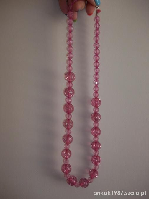Różowe korale