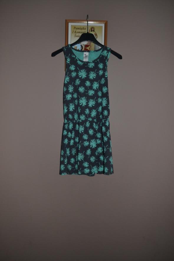 Sukienka C&A 134cm 128cm palmy...
