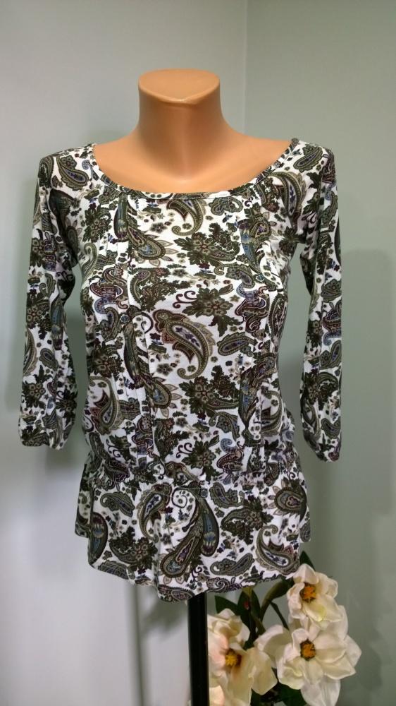 bluzka wzór paisley
