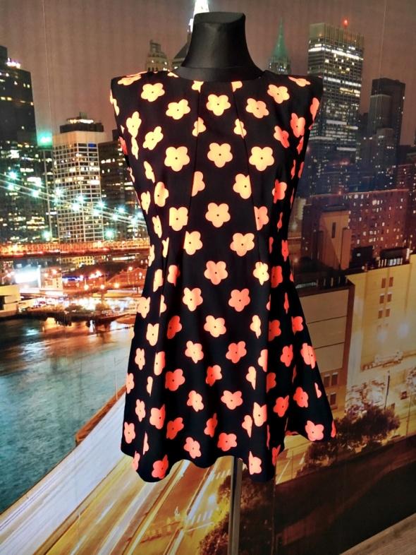 ax paris sukienka kwiaty neonowa hit blog 38...