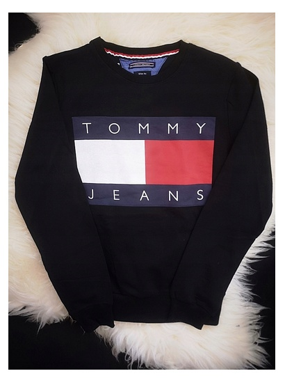 Bluza damska czarna Tommy Hilfiger