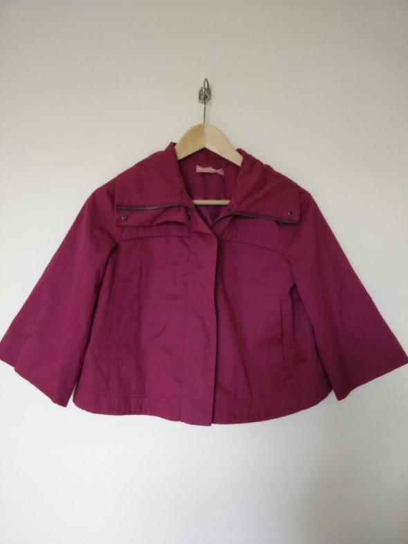Wiosenna różowa kurtka roz XS