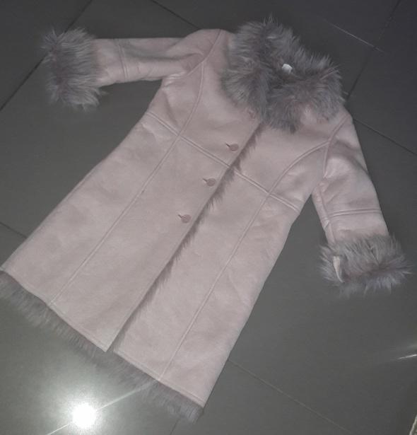 Płaszczyk kożuszek futerko Adams 128