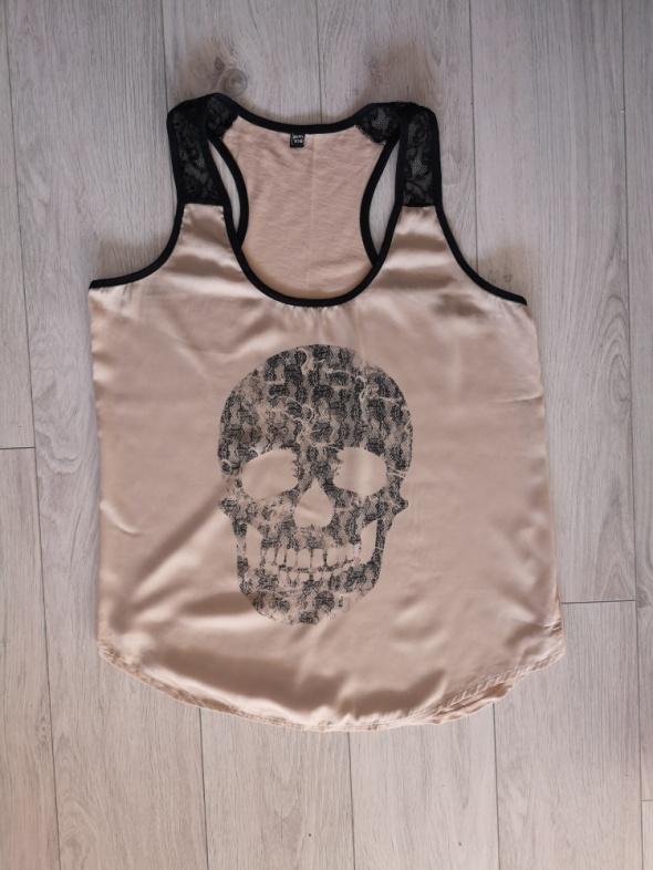 Bluzka koszulka top Pimkie czaszka...