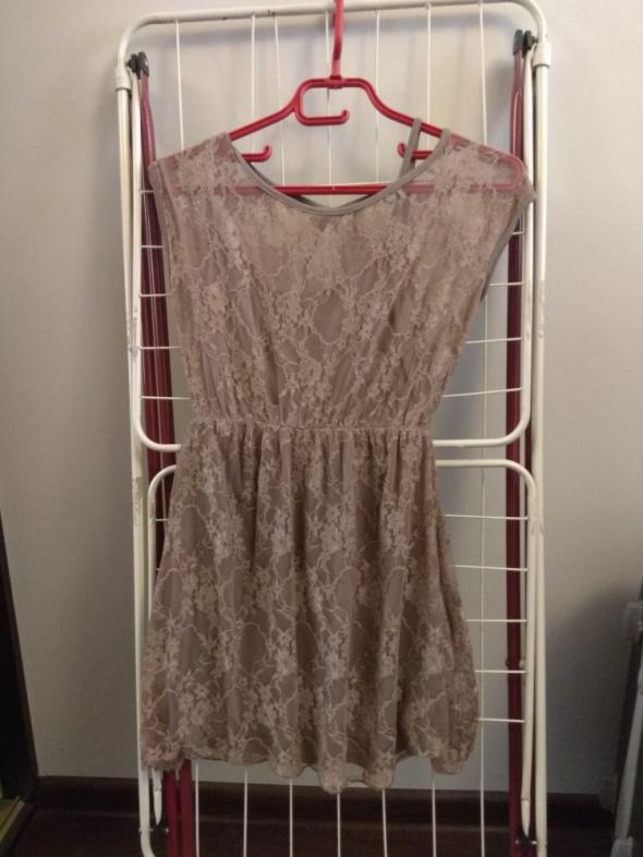 Suknie i sukienki Koronkowa sukienka 36