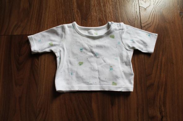 Bluzka koszulka dziecięca Marks&Spencer 50 cm...