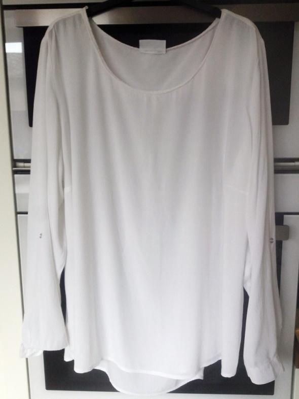 biała bluzka C&A 46 48...