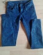 Marmurkowe nowe jeansy...