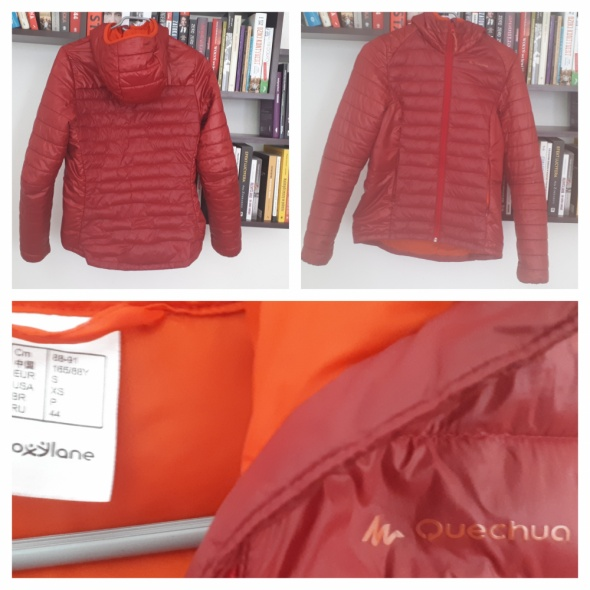 Sprzedam czerwoną pikowaną kurtkę