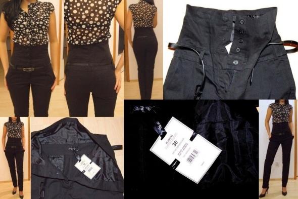 nowe eleganckie spodnie wysoka talia Top Secret...