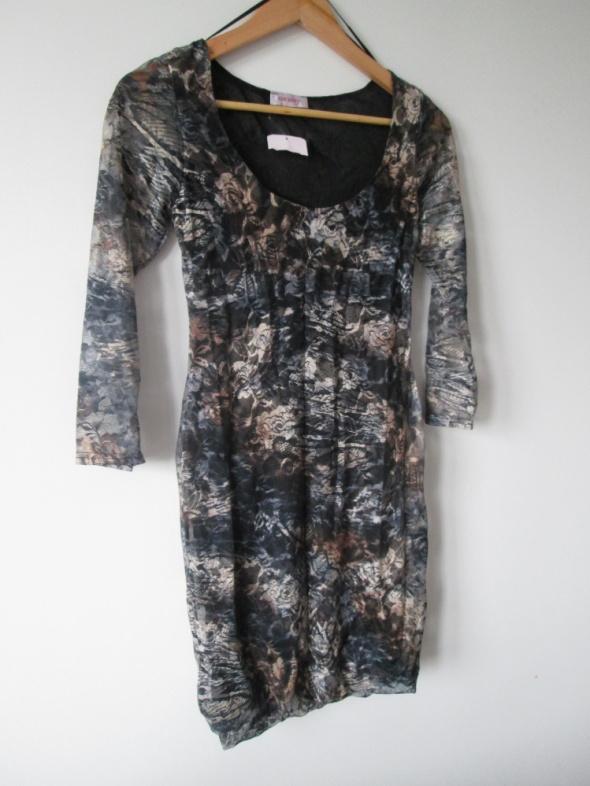 nowa koronkowa melanżowa sukienka Orsay...