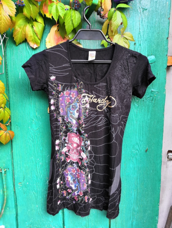 T-shirt Ed Hardy goth emo rock t shirt koszulka