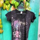 Ed Hardy goth emo rock t shirt koszulka
