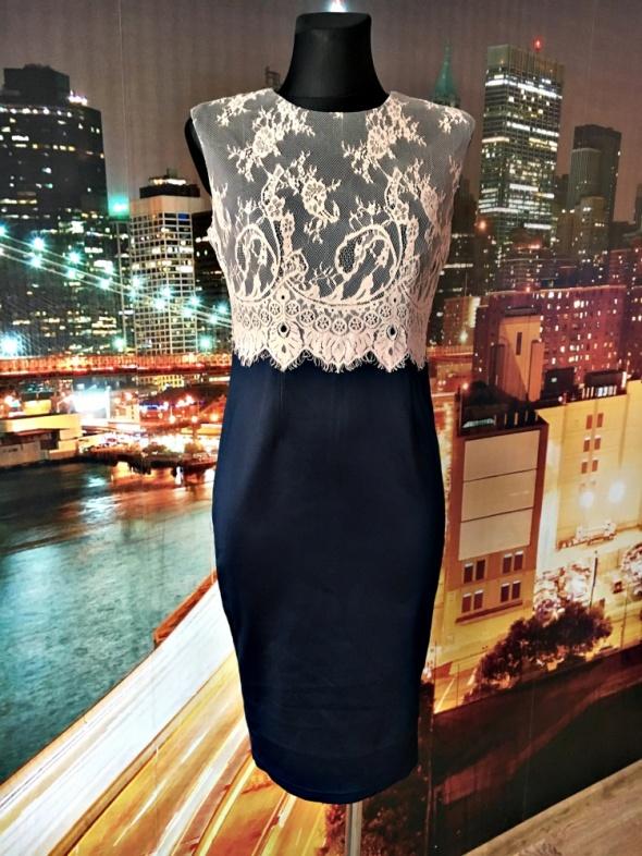 ax paris sukienka midi ołówkowa koronkowa hit blog 38 M...