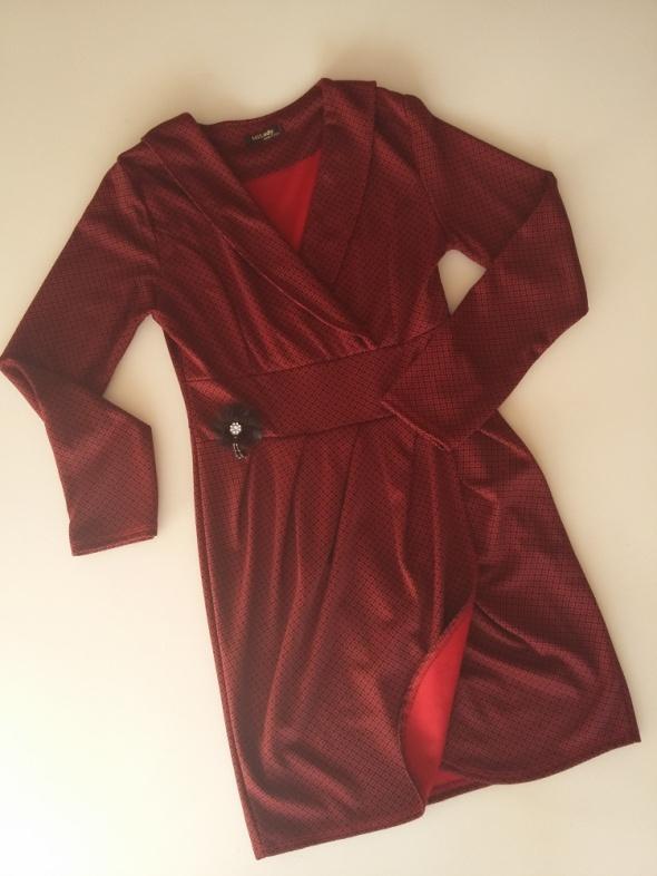 Sukienka Bordo