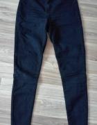 czarne spodnie wysoki stan M...
